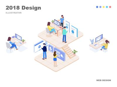Web Design illustrator web