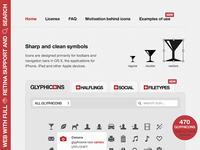 GLYPHICONS 1.8