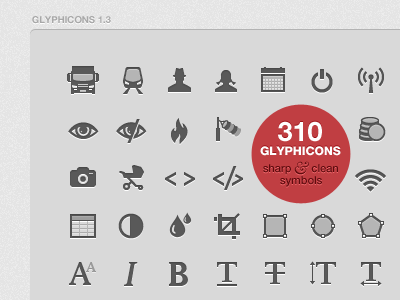 Glyphicons 1 3