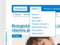 Ordinace.cz - redesign