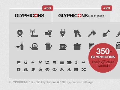Glyphicons 1 5