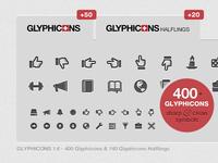 Glyphicons 1.6 update