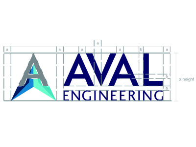 Aval Engineering Breakdown  logo illustration corporate design graphic design icon logo design branding
