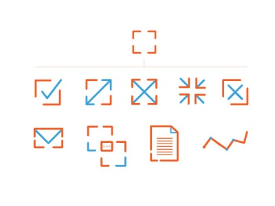 Minimal Icons- WIP illustration icons creative minimal graphic design branding two tone icon design