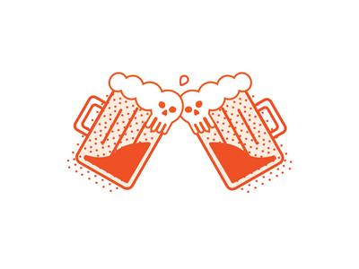 Head Bangers illustrator print graphic design icon icons minimal toronto design graphic vector illustration