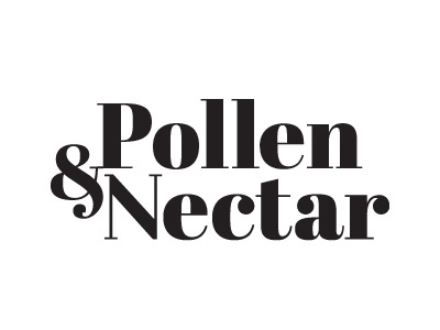 Pollen & Nectar graphic design toronto label packaging minimal design icon logo