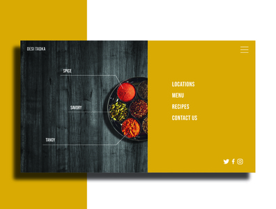 Daily UI 003 restaurant dailyui003 dailyui india ui design