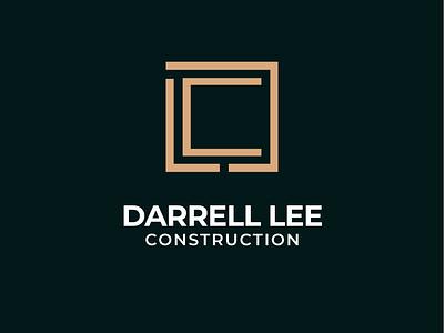 Darrell Lee - Construction Brand Identity icon logotype logo design darrell lee abstract logo minimalist flat design logos vector corporate design corporate identity brand identity construction company realestate concept branding construction logo brand