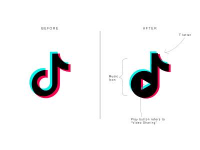 TikTok Logo Redesign logo mark icon flat icons logos brand identity minimal logo logo maker tiktok logodesign logo redesign flat logo logo vector tiktok logo redesign tiktok video tiktok logo abstract flat branding app icon logo