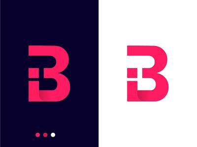 IB Letter Combination Mark letterpress minimalist logo lettering minimal corporate letter mark monogram letter mark logo combination mark ib logo flat icon logos gradient logo app icon logo design logo branding abstract letter lettermark