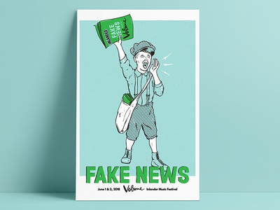 Fake News / Volume Poster