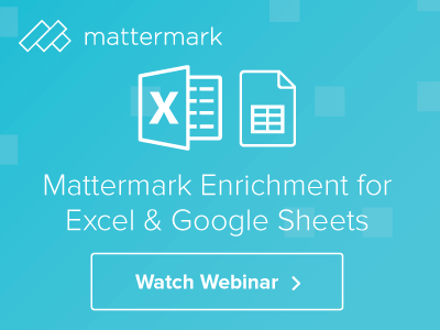 Mattermark - Online Display Ad Series ads display online