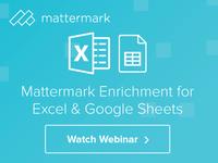 Mattermark - Online Display Ad Series