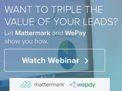 Mattermark + Wepay - Online Display Ad Series ads display online