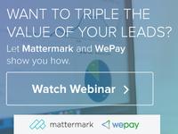 Mattermark + Wepay - Online Display Ad Series