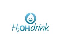 H2OH Drink - Logo Design