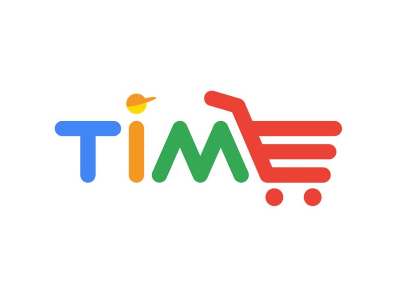 Логотип приложения Time minimal branding vector icon logo flat web illustrator illustration design