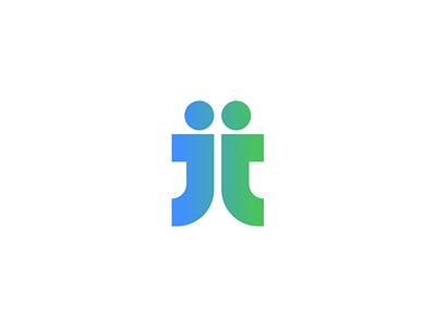 Редизайн логотипа приложения JobJob minimal icon ux ui vector logo app design branding