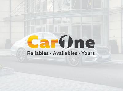 CarOne logo for car rental company