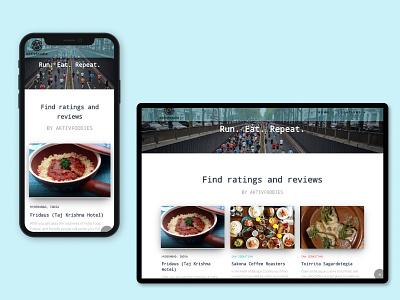 AktivFoodie Travel and Eating App mobile code design foodie travel desktop design mobile design ui