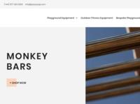 Monkey Bars For Sale Website I designed