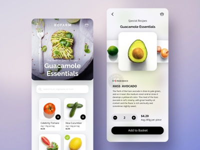 Fruit Shop App vegetable adobe xd daily grocery grocery app farmbox app shopping app shop fruit