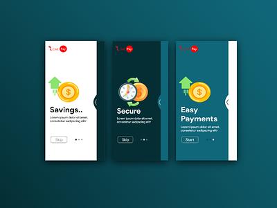 Online Wallet colorful minimal uxdesign uxui ui wallet online