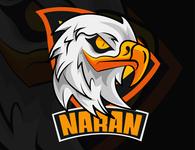 Eagle mascot vector illustration illustrator eagle concept design logo mascot