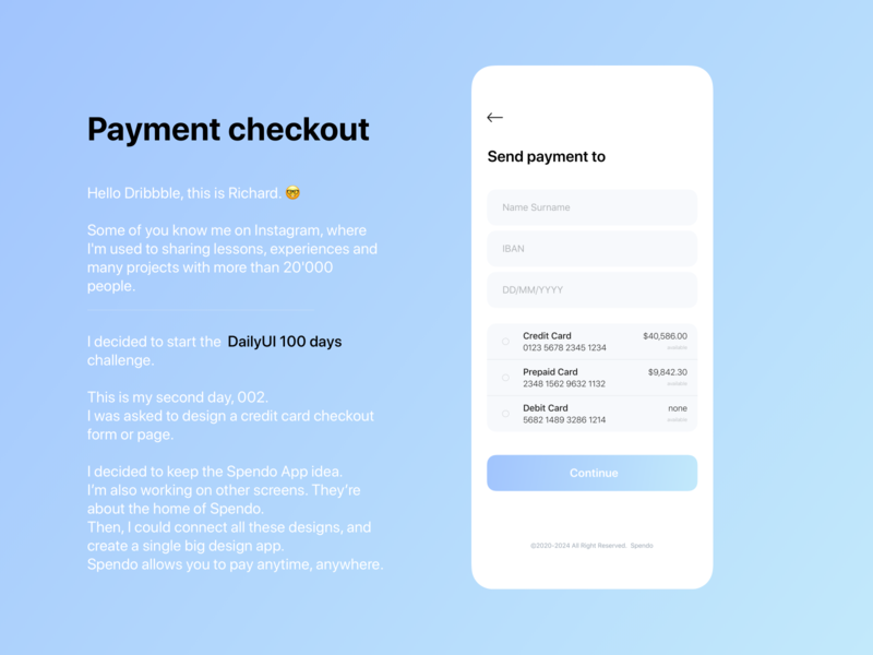 DailyUI 002 - Credit Card Checkout credit card payment credit card checkout credit card credit card form ui design sketchapp dailyui create account