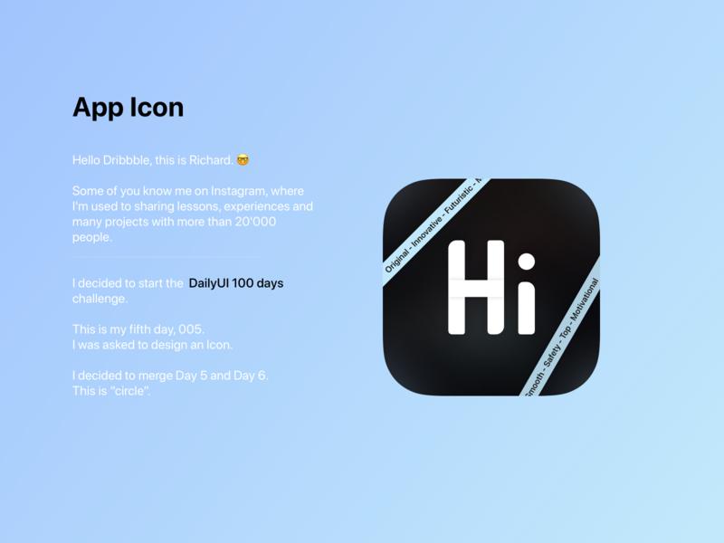 DailyUI 005 - App Icon vector sketch logo ui dailyuichallenge dailyui message app icon design app design app icon