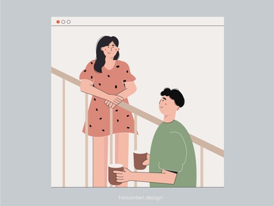 love goals illustrator design instagram post illustrator art adobe illustrator bright colors minimal book illustration illustration art people icons vector illustration