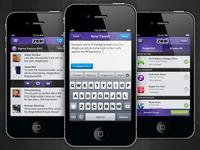 Zeel iPhone Interface