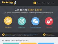 Rocketfuel Games Website