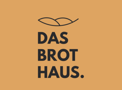 Das Brot Haus bakery logo bakery illustrator logo design branding