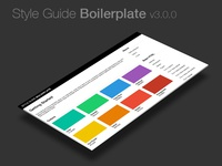 Style Guide Boilerplate 3.0.0