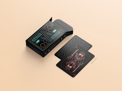 Playing Cards poker cards packaging design playing cards