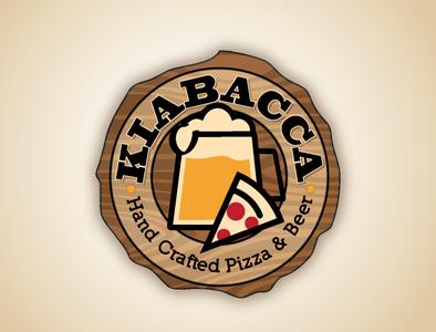 Pizza & Beer Company Branding logo branding design