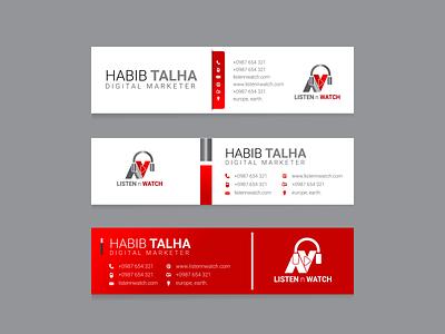 E-mail Signature design business card design web logo design facebook ads design flyer design minimal brochure design graphic design branding