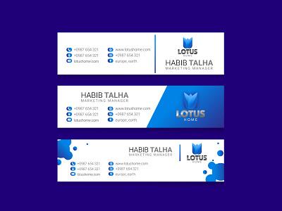 E mail Signature Design app web facebook ads design business card design flyer design brochure design logo graphic design typography branding