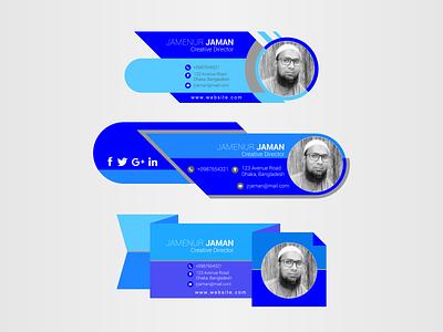 Email Signature Redesign web app facebook ads design business card design icon minimal brochure design typography graphic design branding