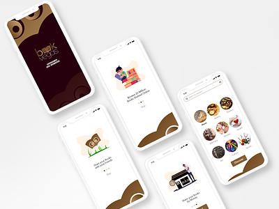 Book Vegas | Book Shop Logo | UI Design minimal web ux icon graphic design ui flyer design typography branding logo
