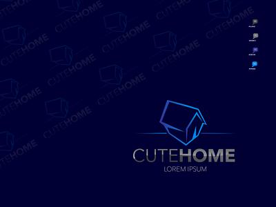 REAL ESTATE LOGO brochure design app icon branding graphic design ui vector minimal typography logo