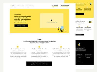 Hjemmeside for SaaS løsning wordpress web design copenhagen danish dansk landingpage webdesign website