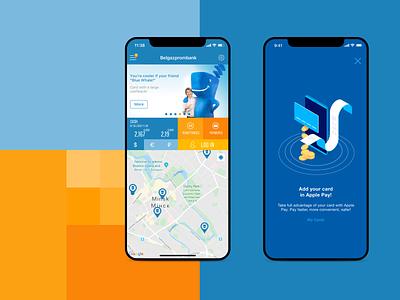 Award-winning Mobile Banking App branding financial app design ui ux banking finance app