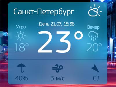 Weather widget weather widget ios 7 ios7 flat ui