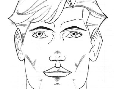 Manga Sketch manga sketch face