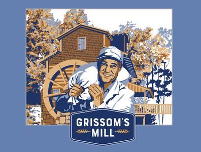 Grissom's Mill Illustration