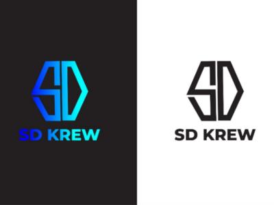 SD Text Logo Design colorful logo minimal logo design minimalist logo logo for client sd logo text logo design text creative logo design creative logo creative logo logo design