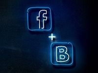 FAMOUS Neon Social Icons