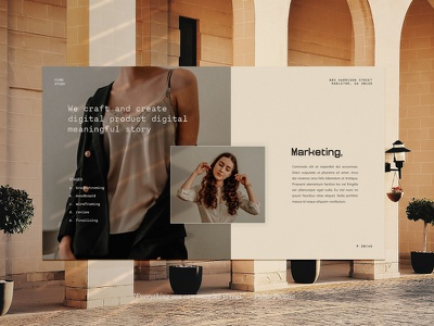 Flowe - Boho Style layout signature contemporary feminime design layout brand branding mediakit bohemian boho beauty